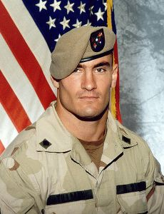 Corporal Patrick Tillman. The physical ideal of an American soldier.